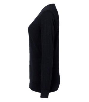 HAKRO Damen V-Pullover Merino-Wool
