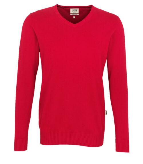 HAKRO V-Pullover Premium-Cotton