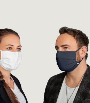 Mund-Nasen Stoffmaske MIKRALINAR® (10er Pack)
